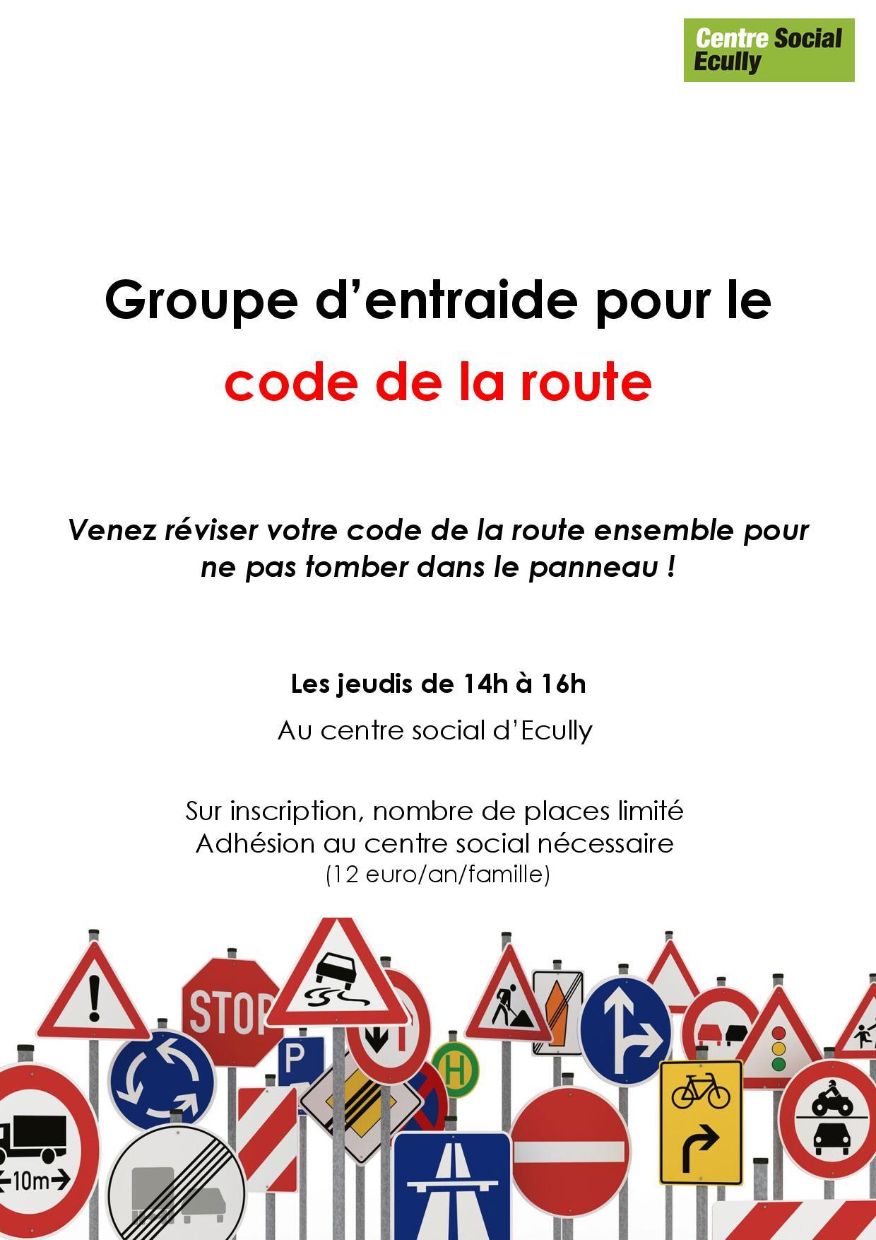 Vous avez le projet de passer votre permis de conduire, rejoignez le groupe d'entraide de préparation au code de la route !
