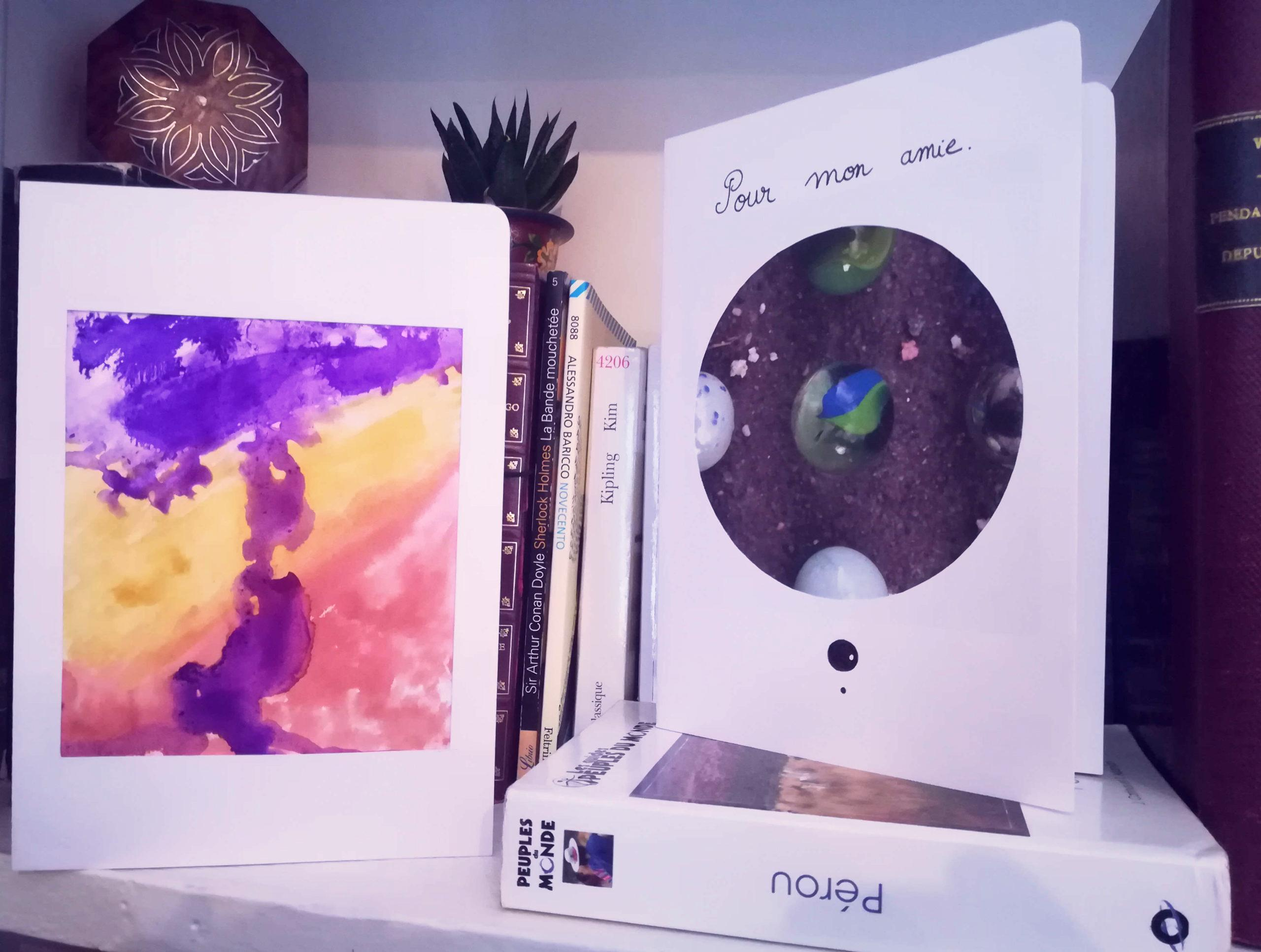 <b>L'atelier de Camille</b></br> Créer ses cartes postales