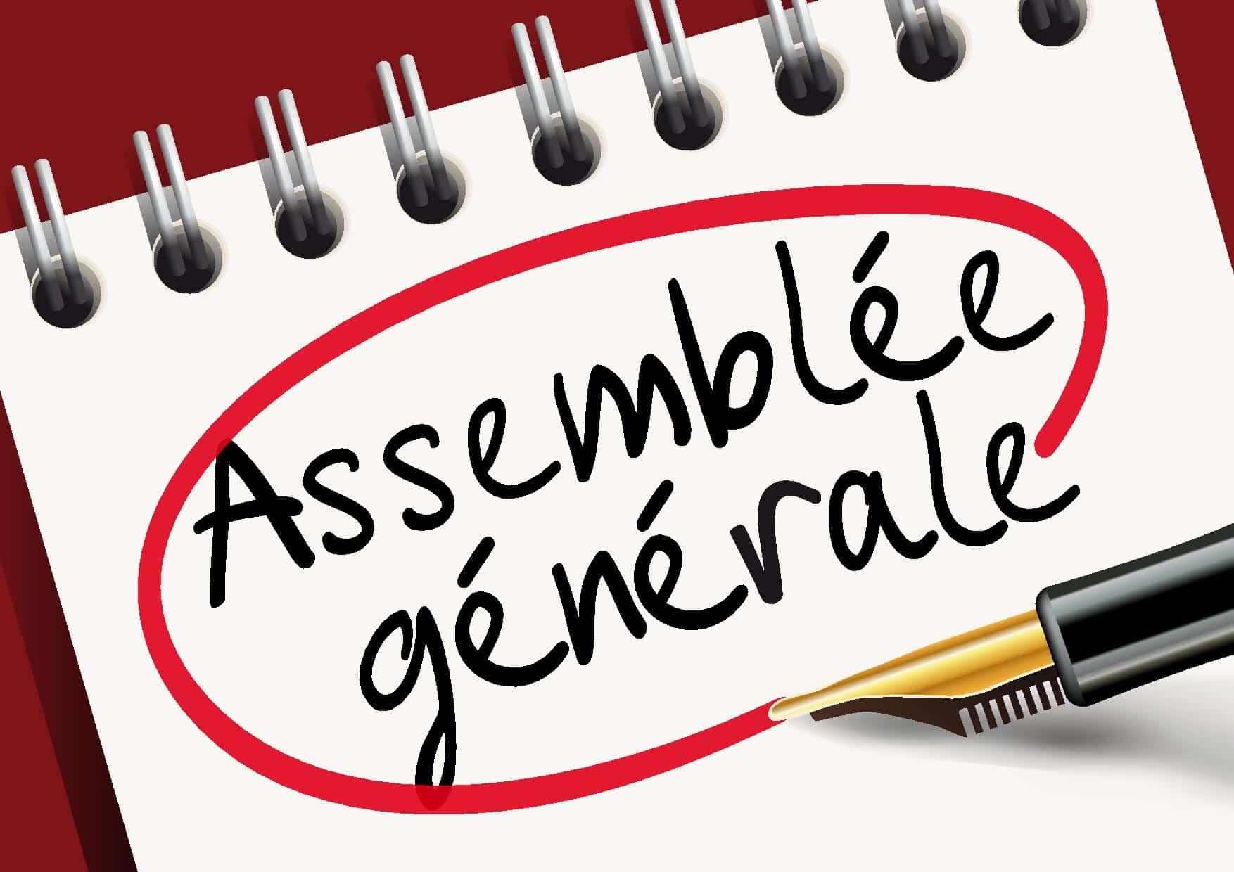 Vendredi 26 juin 2020,</br><b> Assemblée Générale</b>